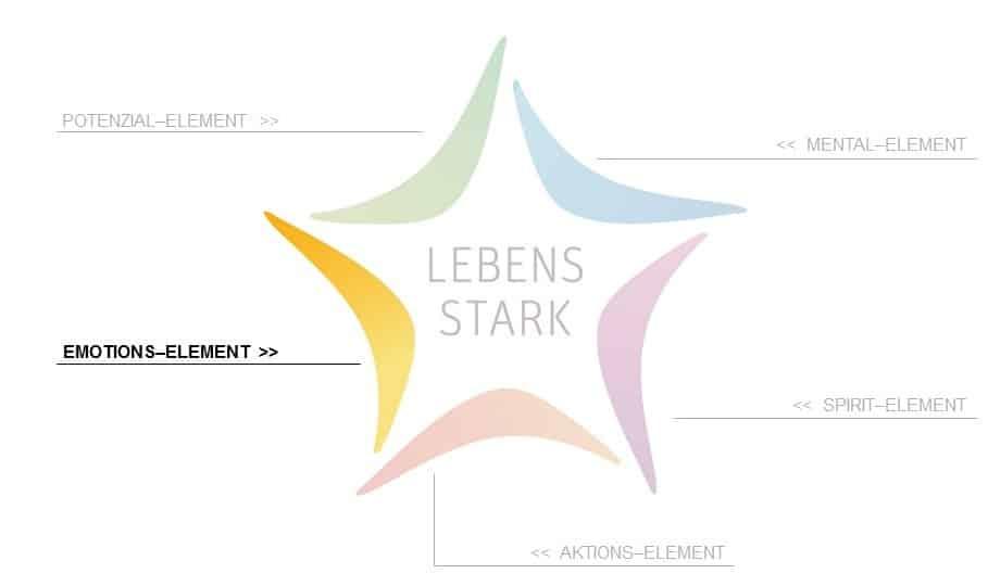 Prinzip LEBENS STARK: Das Emotions-Element im LEBENS STERN
