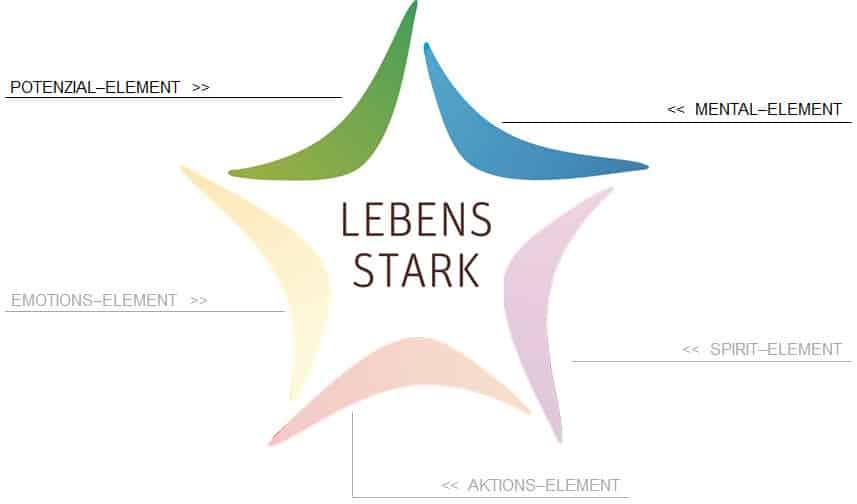 Das Mental-Element und das Potenzial-Element im LEBENS STARK Prinzip