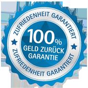100% Zufriedenheitsgarantie für Seminarbesucher